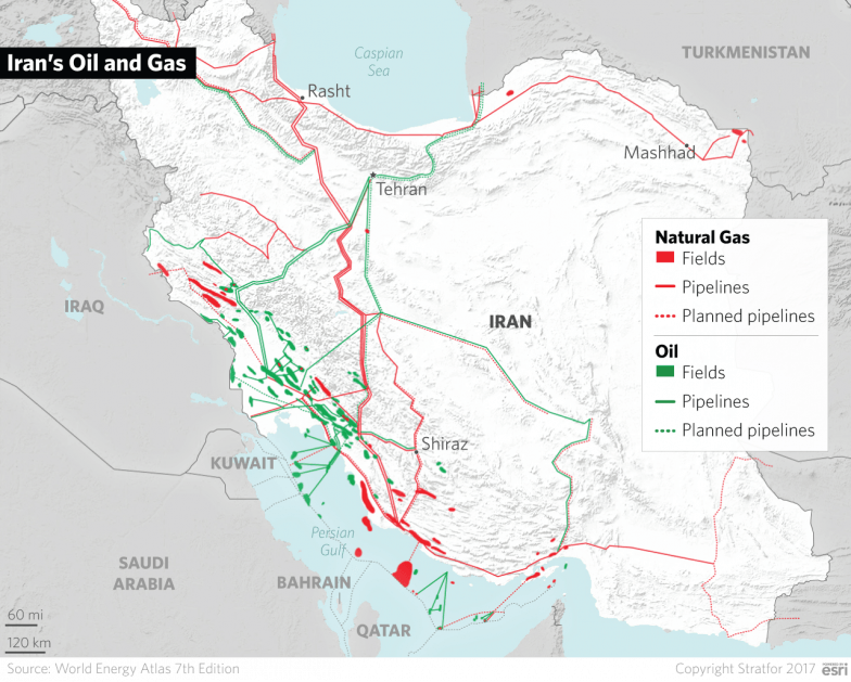 The Geopolitics Of Iran Holding The Center Of A Mountain Fortress - Us-attention-on-the-middle-east-outline-map-answers