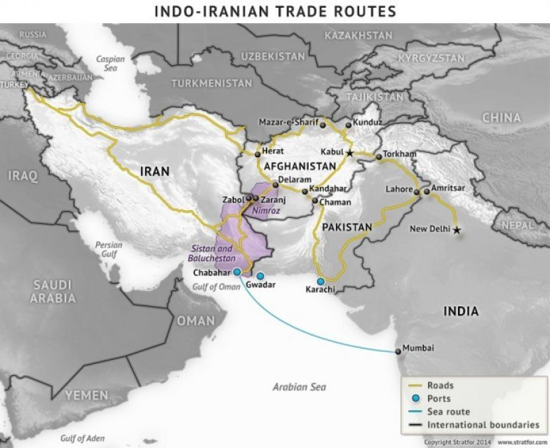 Iran: India's Gateway to Central Asia and the Middle East