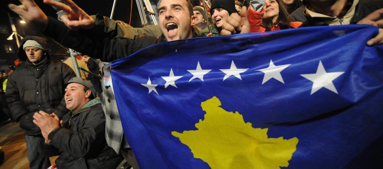 Kosovo is one of six non-U.N. states that other countries claim but do not control. More than 100 U.N. members recognize Kosovo's sovereignty.