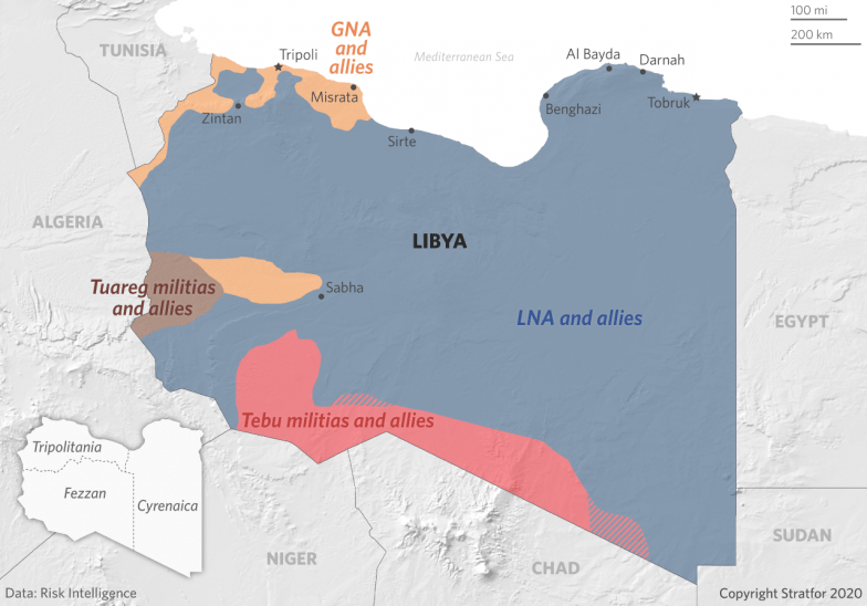 Image result for libya stratfor 2020""