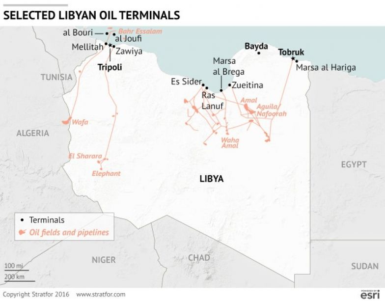 In Libya, Political Unity Starts With Oil