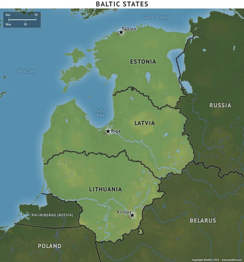Estonia, Latvia and Lithuania