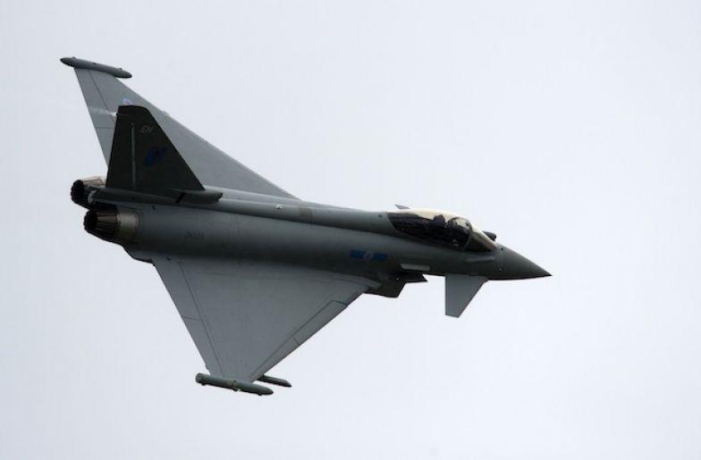 A British Eurofighter Typhoon