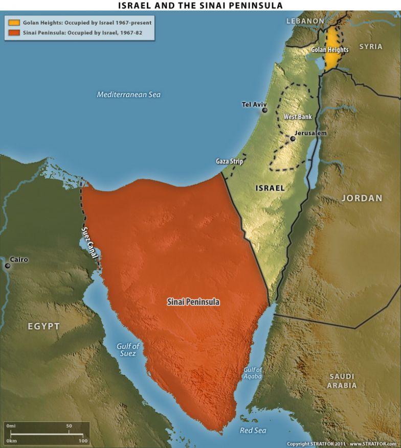 Egypt, Israel and the Sinai Peninsula