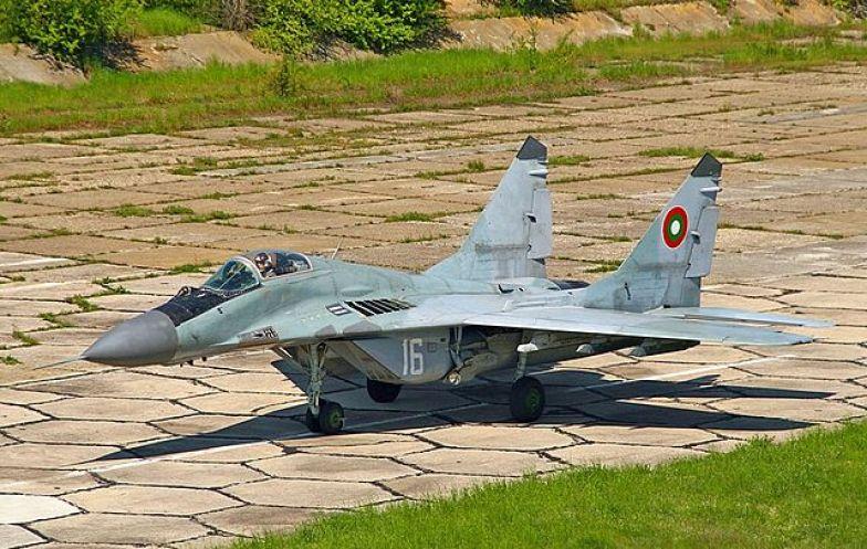 A Bulgarian MiG-29