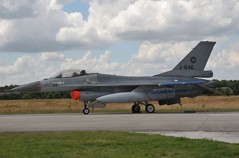 A Netherlands F-16AM Fighting Falcon