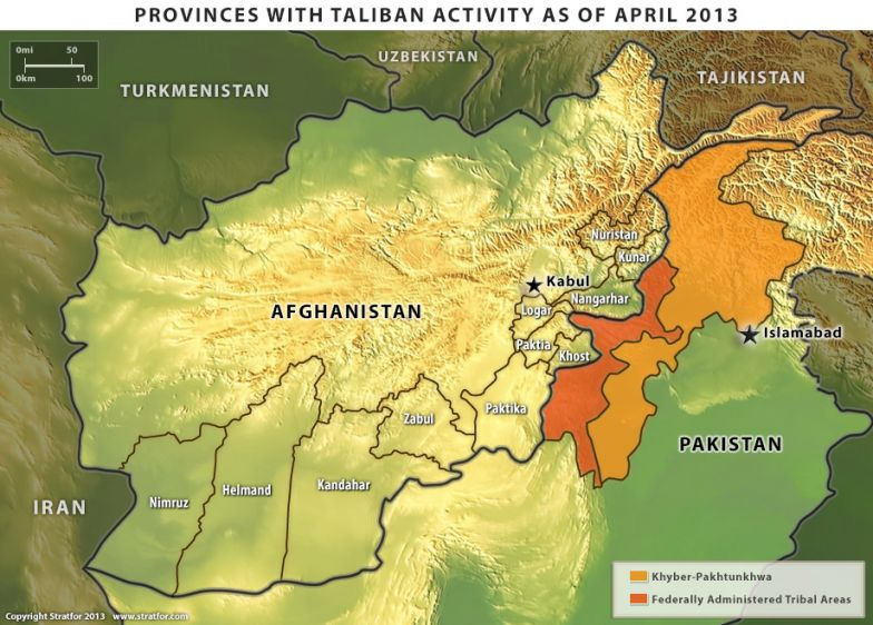 Taliban Activity in Afghanistan and Pakistan