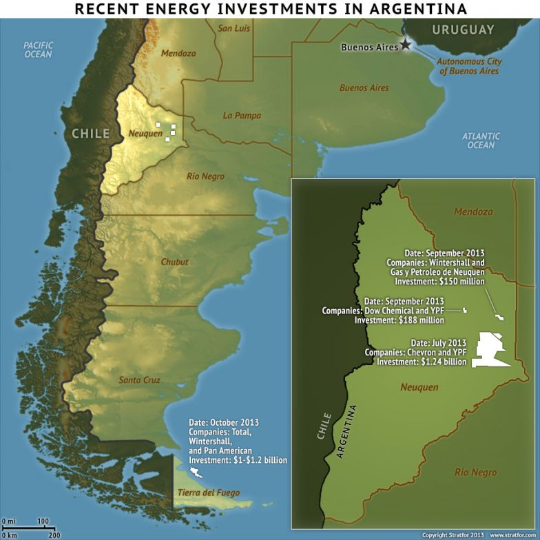 Recent Energy Investments In Argentina