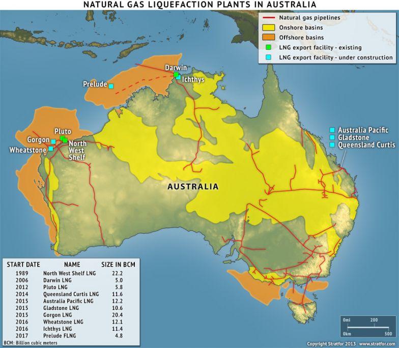 Australia's LNG Sector Comes Under Strain
