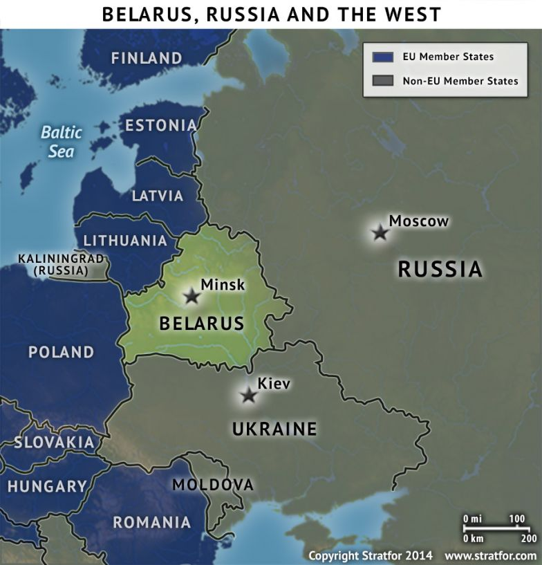 Belarus, Russia and the West
