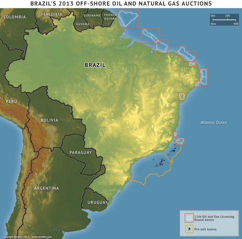 Brazil's 2013 Offshore Oil and Gas Auctions