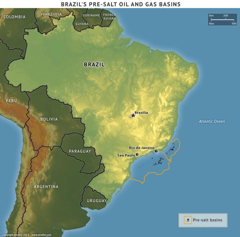 Brazil's Pre-Salt Oil and Gas Basins
