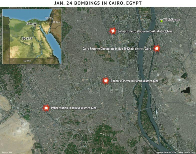Jan. 24 Bombings in Cairo, Egypt