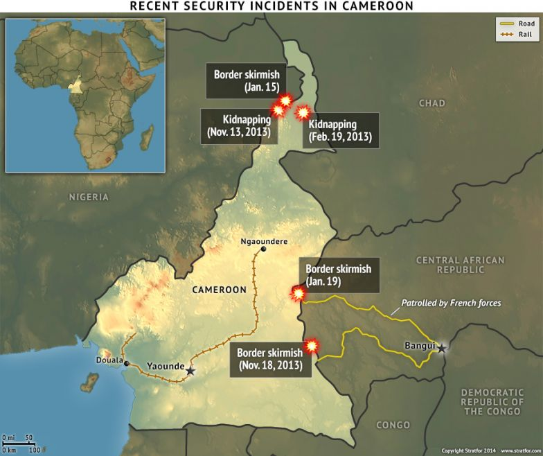Recent Security Incidents in Cameroon