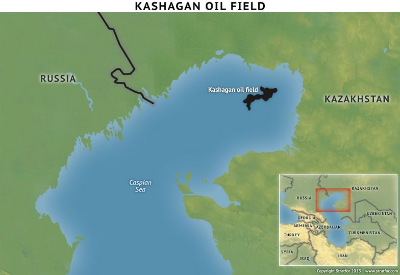 Kashagan Oil Field