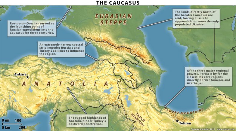 The Geography of the Caucasus