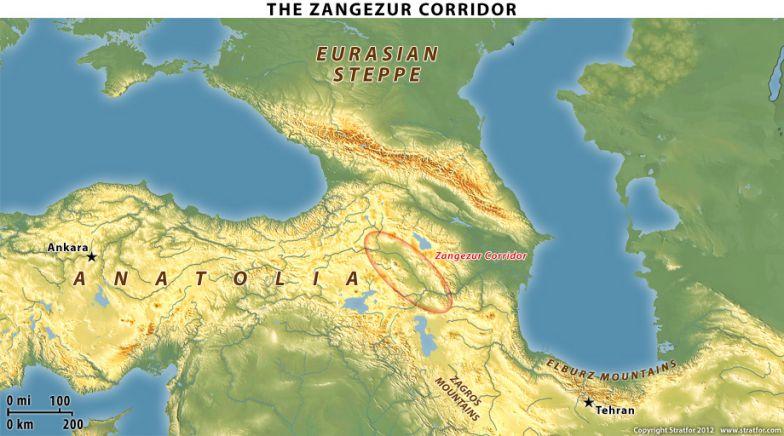 The Caucasus\' Zangezur Corridor