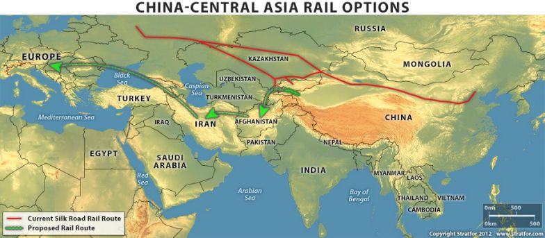 The Future of the Silk Road Rail Route on
