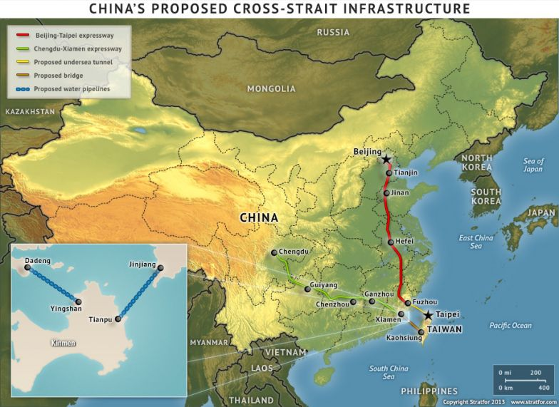 China's Proposed Cross-Strait Infrastructure