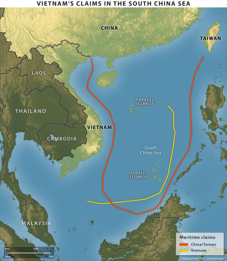 Vietnam's Claims in the South China Sea