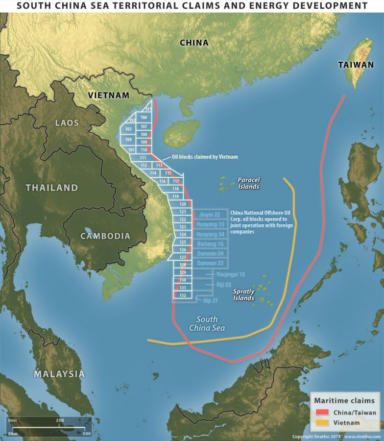 South China Sea Territorial Claims and Energy Development