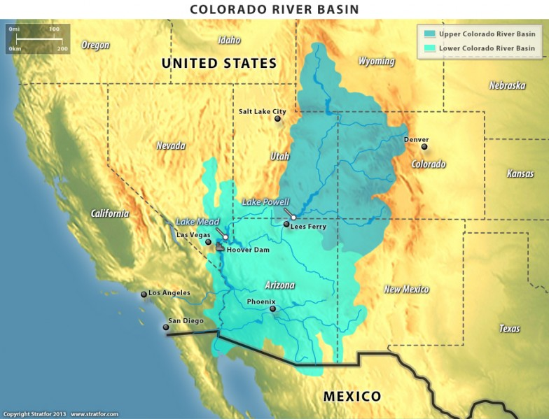 Map - Colorado River Basin