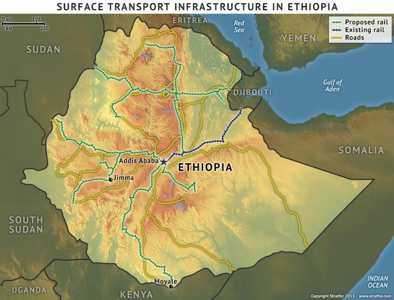 Surface Transport Infrastructure in Ethiopia