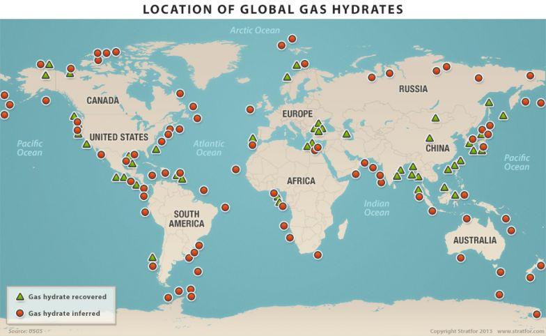Global Methane Occurrence