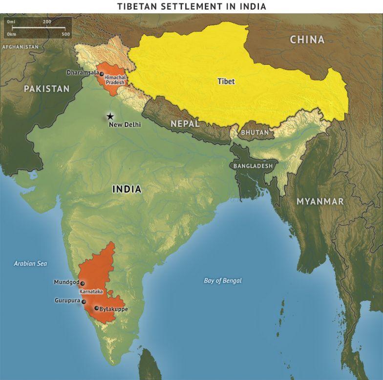 Tibetan Settlement in India