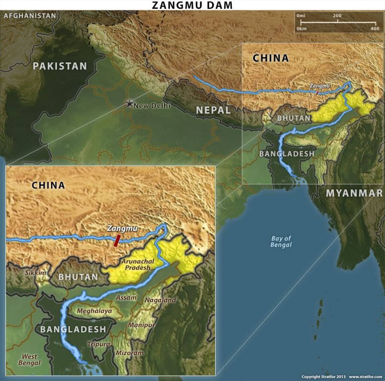China and India Quarrel Over a Dam Project