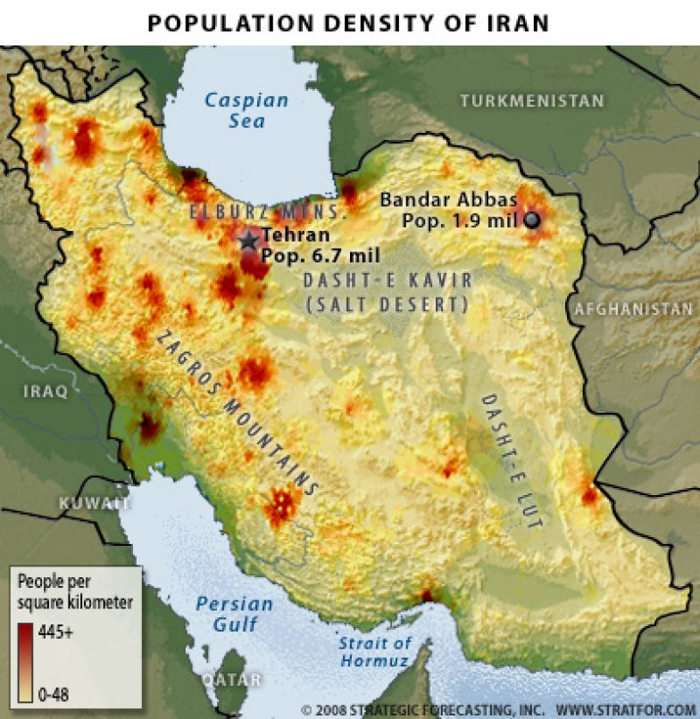 The Geopolitics of Iran Holding the Center of a Mountain Fortress