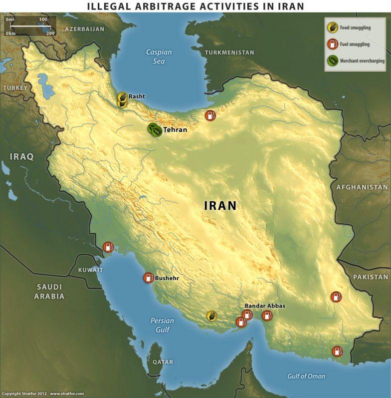 Illegal Arbitrage Activities in Iran