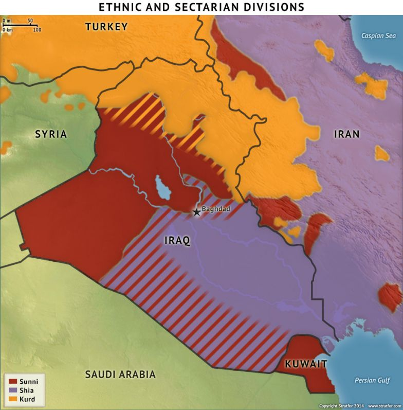 Ethnic and Sectarian Divisions in Iraq