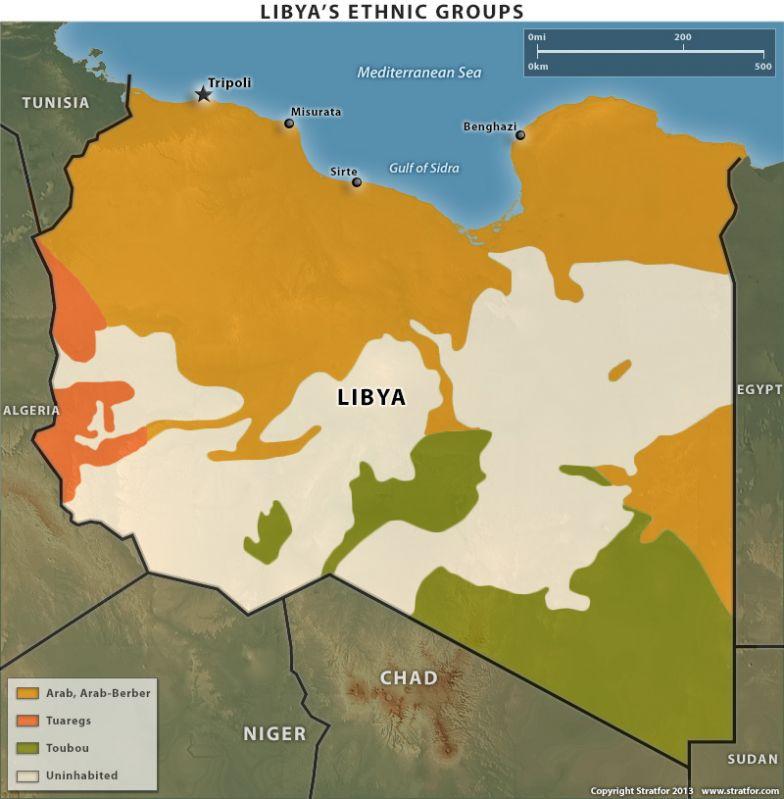 Libya's Ethnic Groups