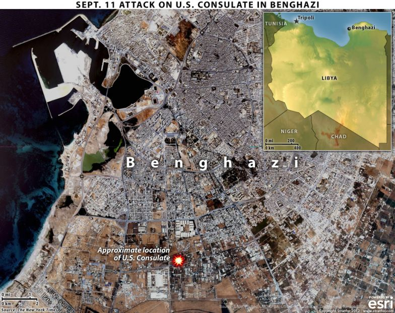 Sept. 11 Attack on U.S. Consulate in Benghazi