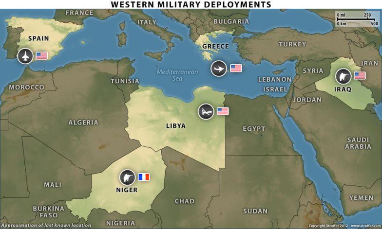 Western Military Deployments