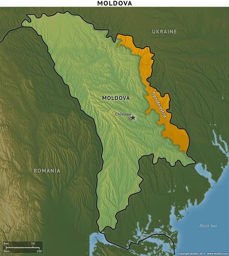 Moldova with Transdniestria