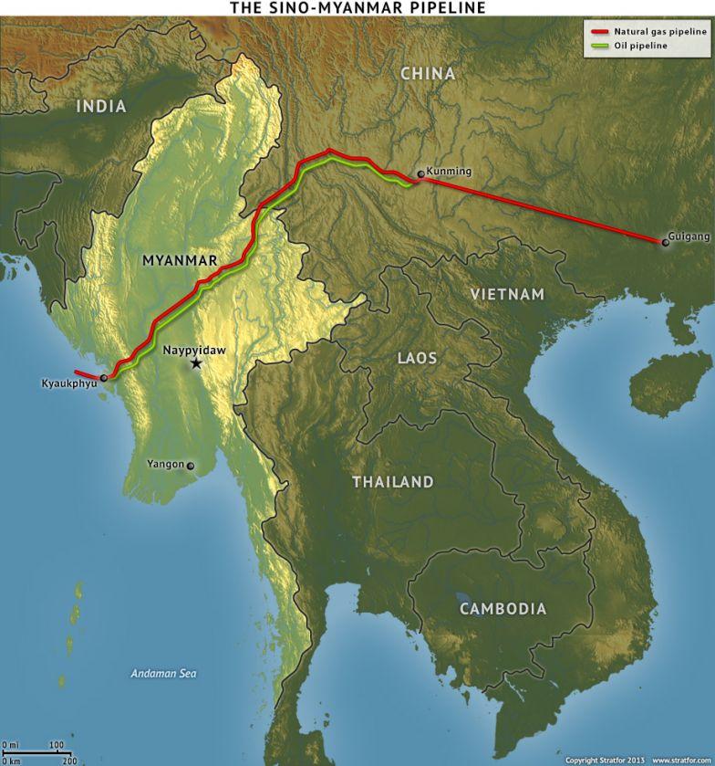 The Sino-Myanmar Pipeline