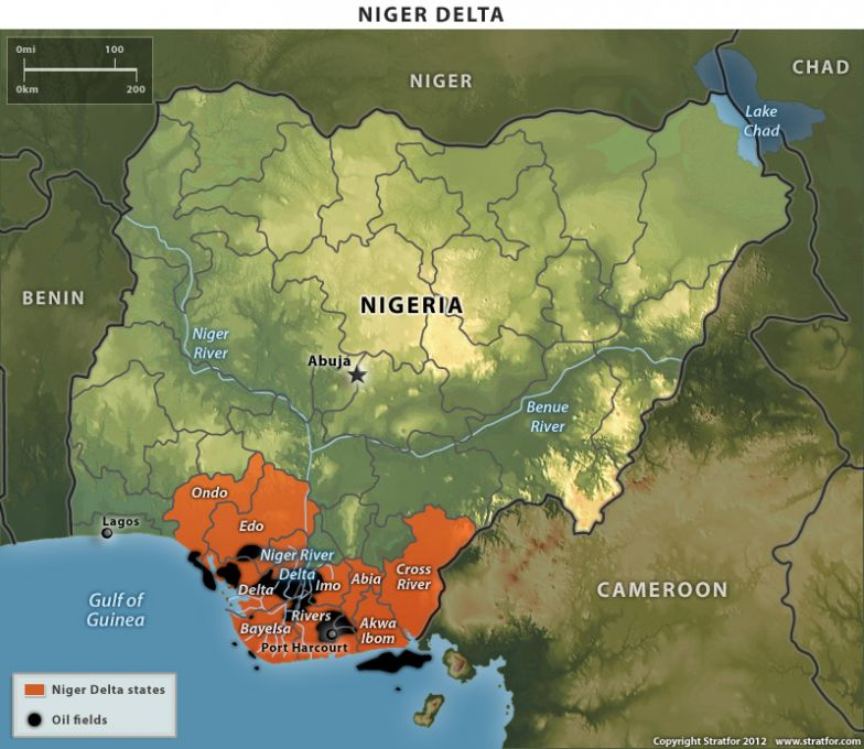 Benue River Africa Map.The Niger Delta Avengers Motives Are A Mystery