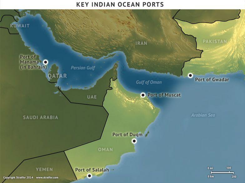 Key Indian Ocean Ports