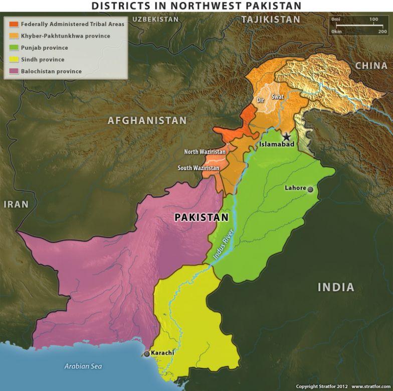Districts in Northwest Pakistan