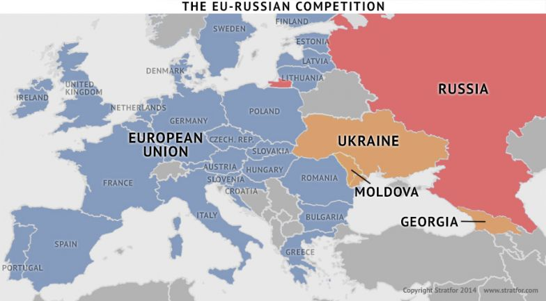 Map Of Georgia Eu.Moldova Georgia Ukraine Tensions With Russia Will Continue