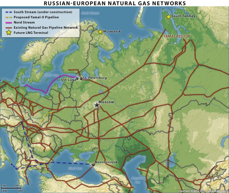 A Possible New Russian Natural Gas Pipeline