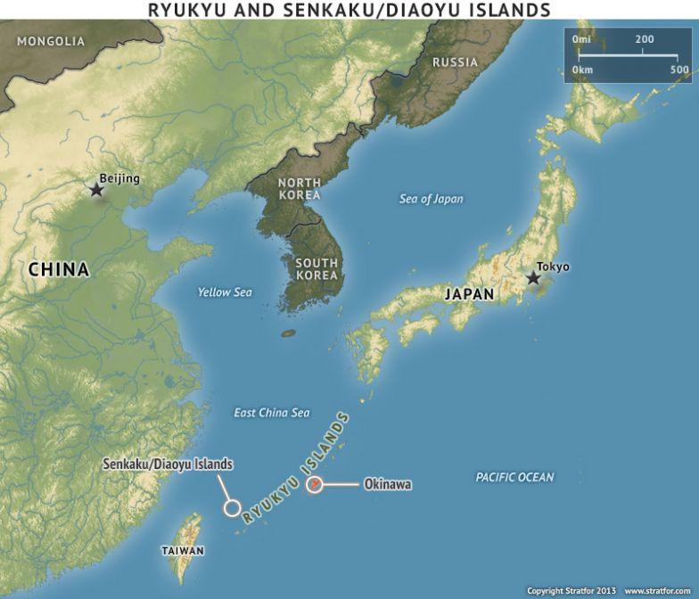 Ryukyu and Senkaku/Diaoyu Islands
