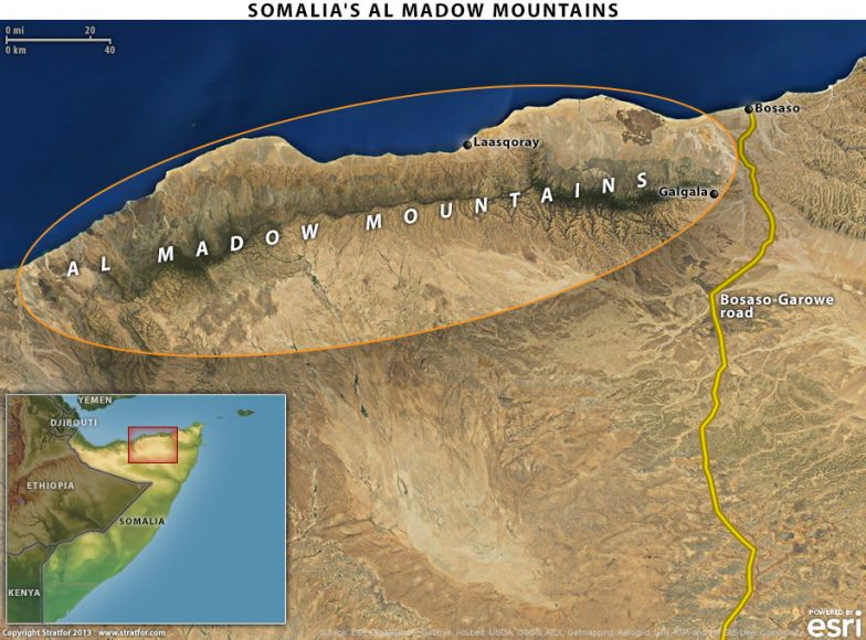 Al Shabaab's Hideout in Northern Somalia