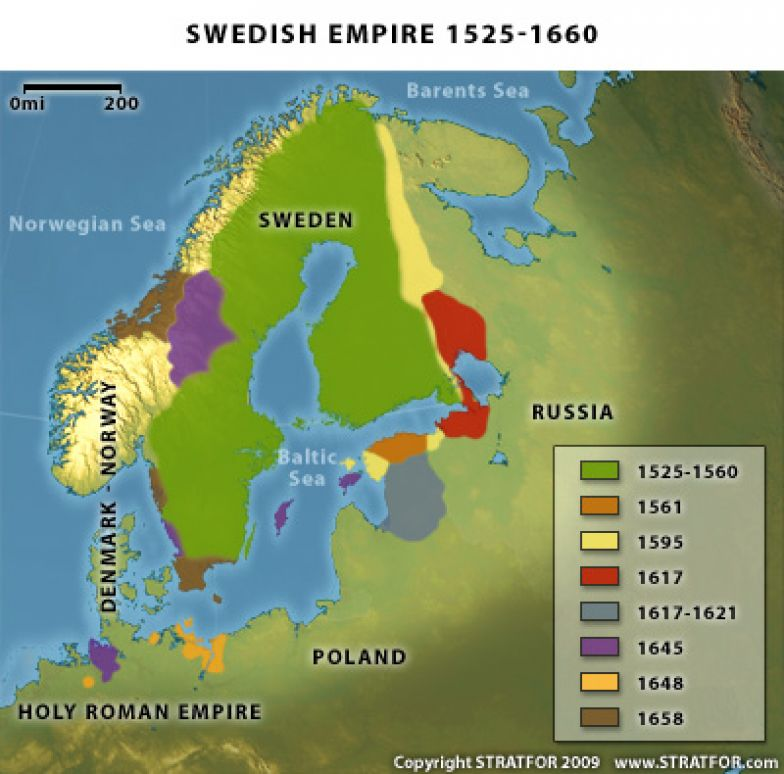The Geopolitics Of Sweden A Baltic Power Reborn Stratfor Worldview - Sweden map interactive