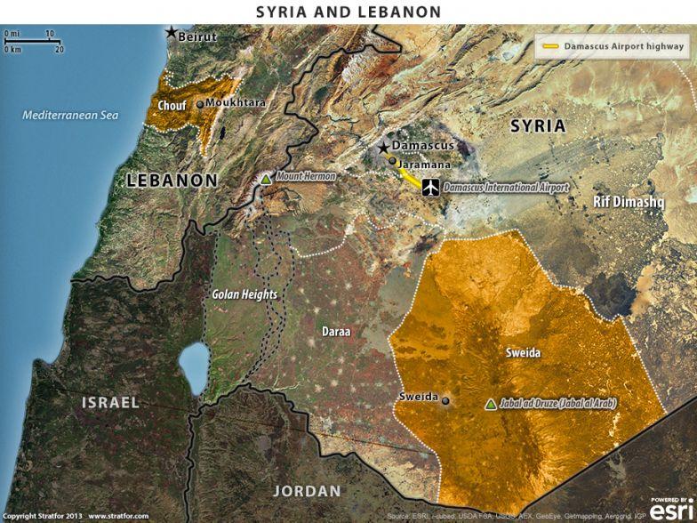 Syria and Lebanon