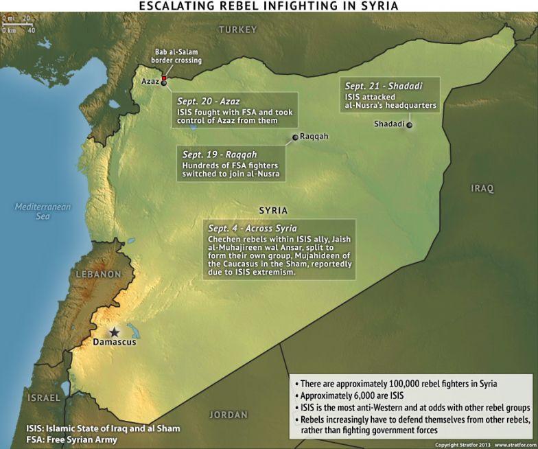 Escalating Rebel Infighting in Syria