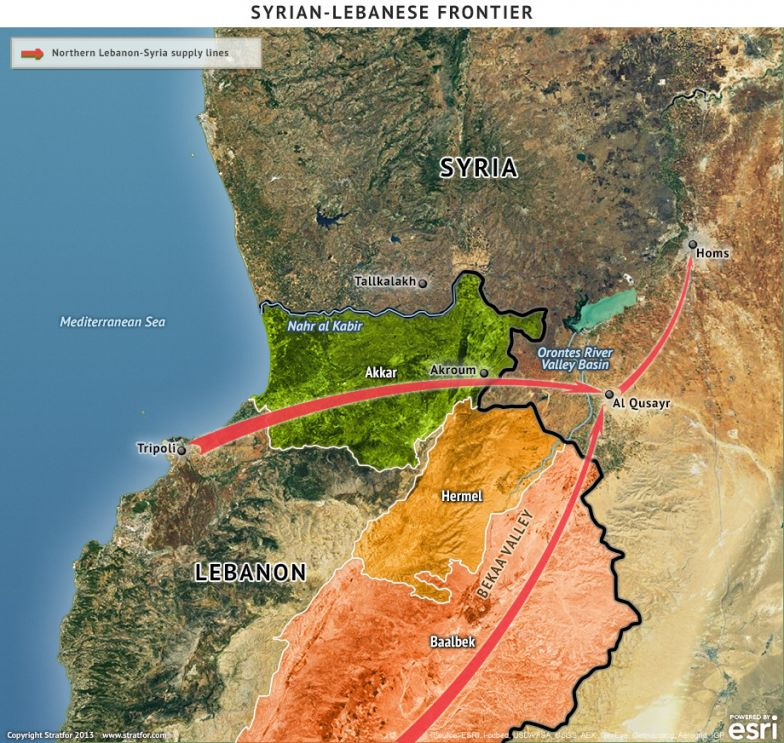 Syrian-Lebanese Frontier