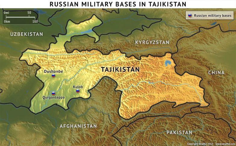 Russian Military Bases in Tajikistan